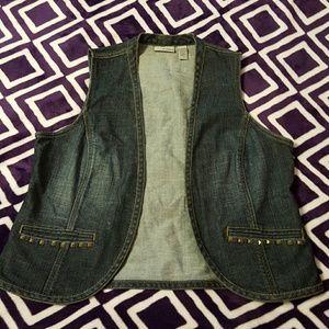 Chico's woman's jean vest